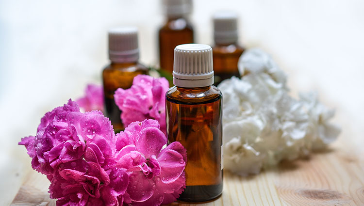 Essential oils for constipation