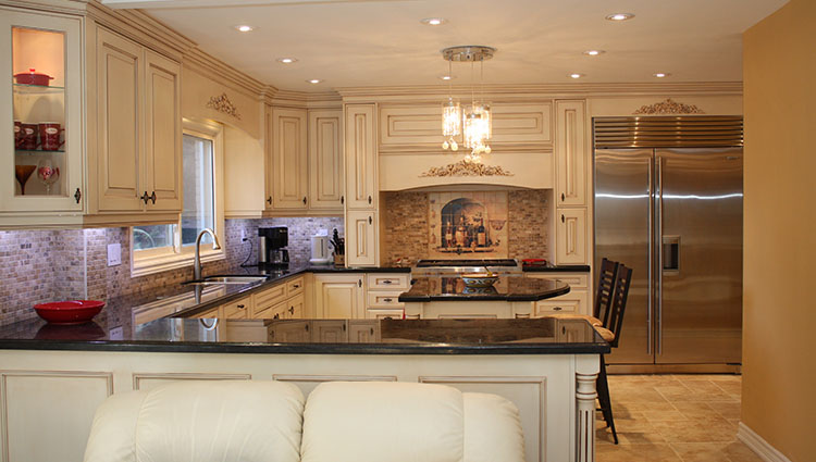 traditional kitchen lights